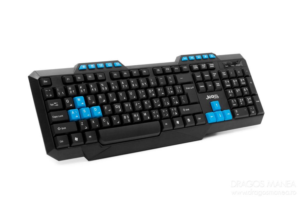 Fotografiere tastaturi pentru magazin